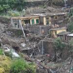 frana causata dall'alluvione dell'ottobre 2011 a Vernazza